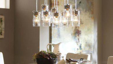 تصویر نکاتی برای نورپردازی اتاق غذاخوری
