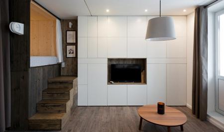 مکان قرار دادن تلویزیون روی دیوار,نورپردازی دکوراسیون تلویزیون دیواری