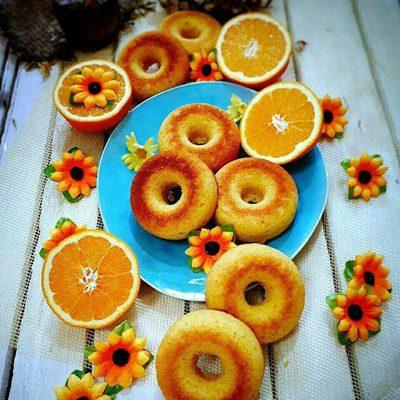 درست کردن دونات پرتقالی, نحوه درست کردن دونات پرتقالی