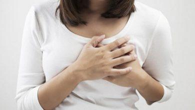 تصویر علل شایع درد سینه در زنان