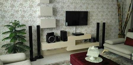 نصب تلویزیون روی دیوار, جای تلویزیون دیواری