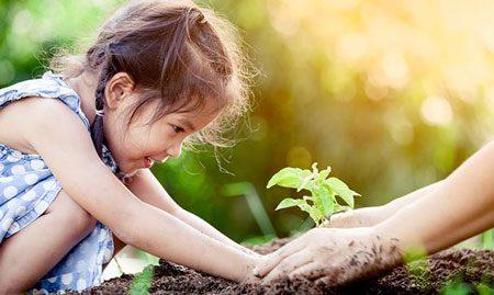 تعامل کودک با طبیعت,سلامت جسم کودک,افزایش خلاقیت کودک