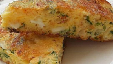 تصویر طرز تهیه املت پنیر