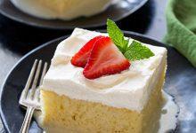 تصویر طرز تهیه کیک سه شیر یا Tres Leches